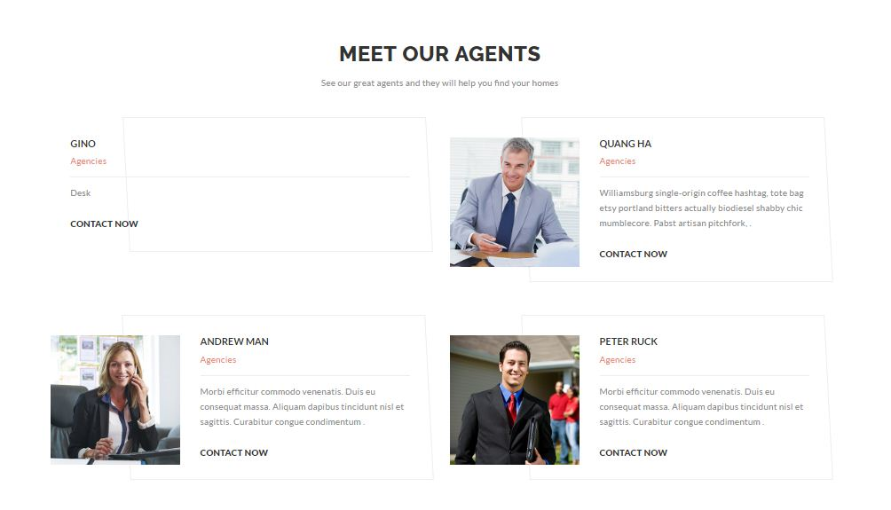 Preston Real Estate agency or agent WordPress Theme