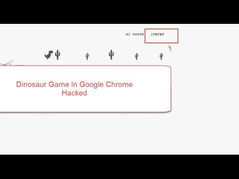 Dinosaur Game Google Chrome Offline